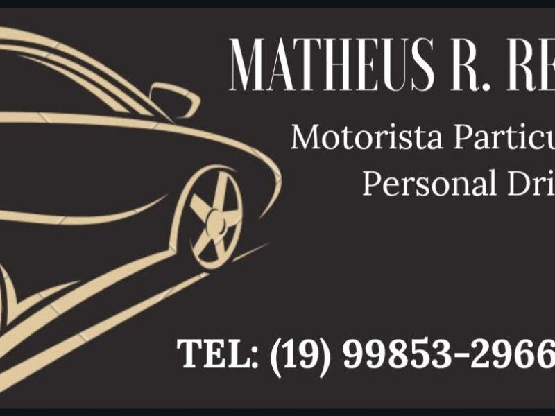 Personal Driver - Motorista Particular