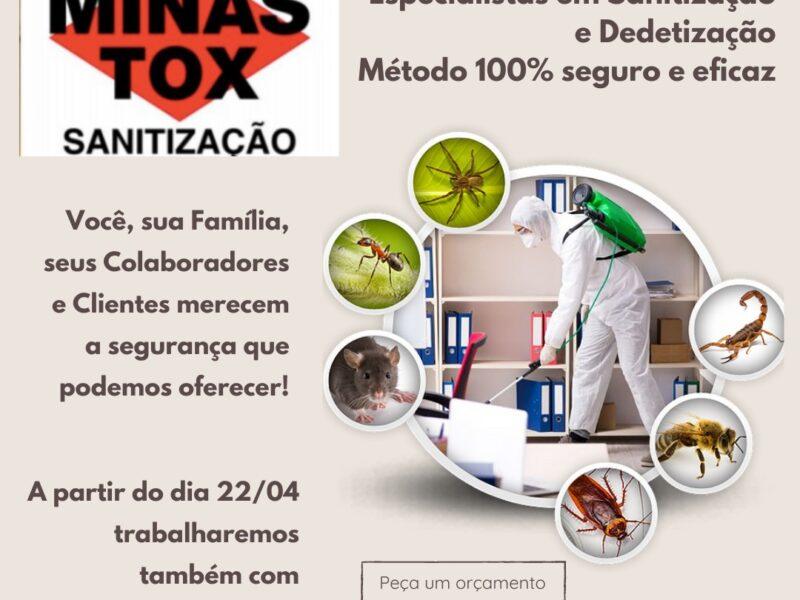 Dedetização, desinfestação, sanitização e desentupimento em Belo Horizonte/MG