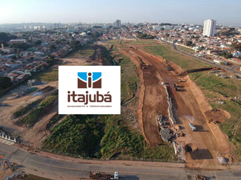 Itajubá obras de terraplanagem