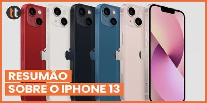 6 fatos sobre o iPhone 13! Preços, novidades e tudo que você precisa saber!