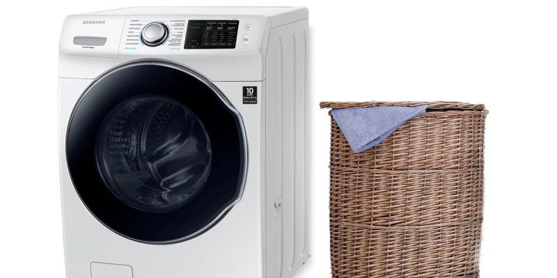 Samsung WD7500 vs LG CV9013EC4A: compare as máquinas de lavar smart